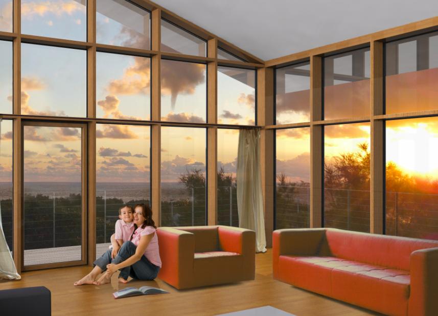 MURS RIDEAUX FACADES LEGERES - Green Window la fenêtre mixte économe ...